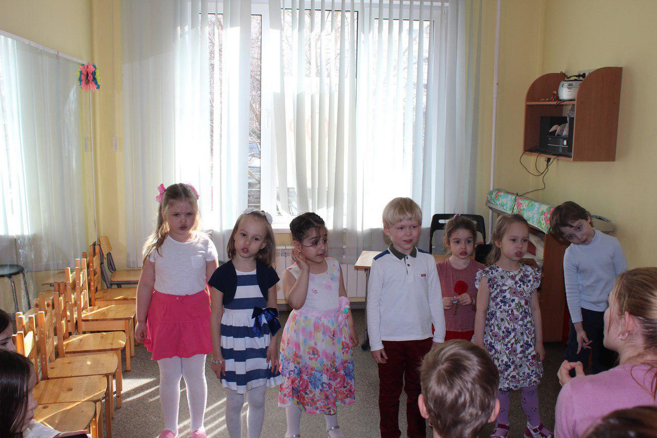 Маленькие «Маргаритки» их Ховрина выступили с концертом