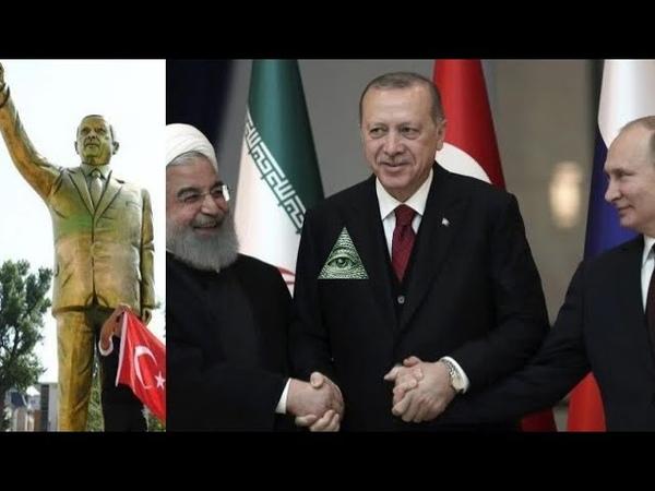Endzeit-News [49] ➤ Der türkische Nebukadnezar | Erdogans goldene Statue