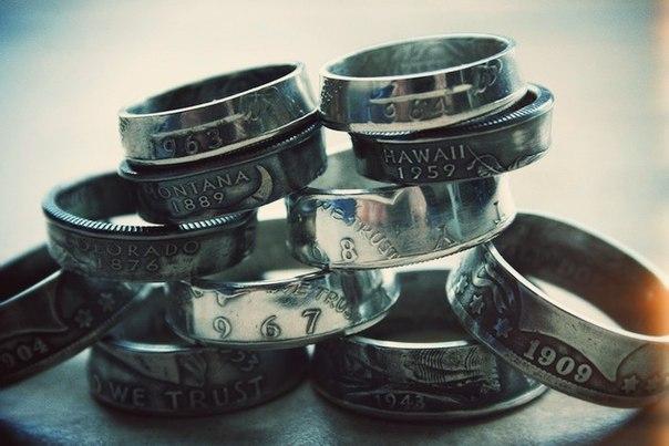 DIY: Как из любой монеты сделать кольцо →.