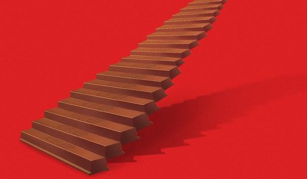 Куда ведёт это лестница? Или это не лестница вовсе? Пофантазируем в перерыве! Предлагай любые варианты в комментариях, и твоё воображение приведёт тебя к виртуальному призу!
