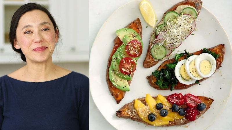 Sweet Potato Toasts- Healthy Appetite with Shira Bocar