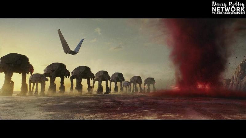 Звёздные войны: Последние Джедаи › Удаленная сцена №13. - Rey and Chewie in the Falcon