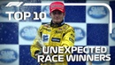 Top 10 Unexpected Race Winners