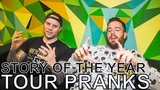 Story of the Year - TOUR PRANKS Ep. 329