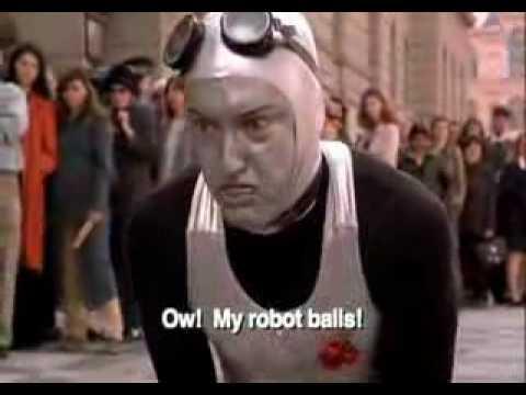 Battle of the robot dance