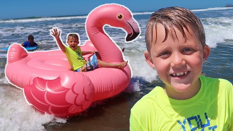TOP 5 AWESOME TOYS GAMES ON THE BEACH!