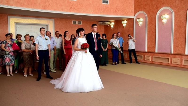 Торжественнная регистрция брака Андрей и Жанна 14.07.2018. Полная версия