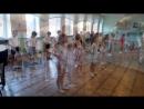 Первый урок ритмики в гимназии