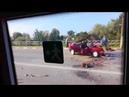 Страшная авария на мосту в Жлобине