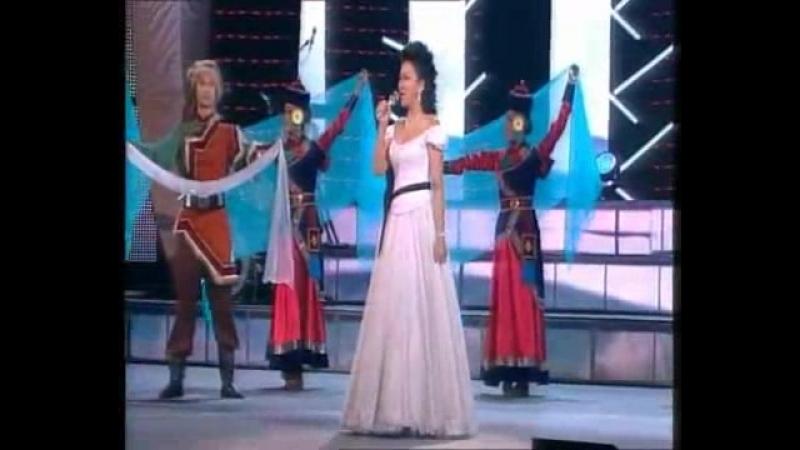 Badma Handa i teatr 'Bajkal' Naranaj domog koncert v kremle 2011 360