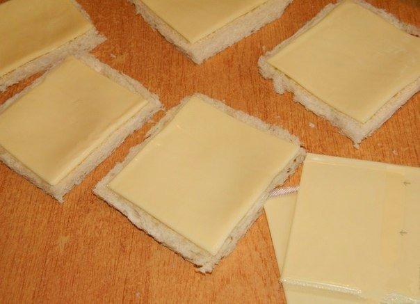 Горячие бутерброды-трубочки. Хлеб, сыр...Сразу воображение рисует бутерброд. Предлагаю