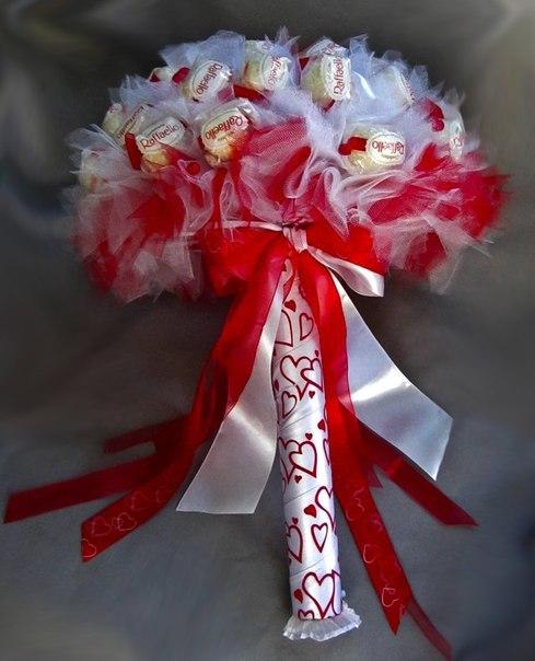 Мастер-класс букет из конфет своими руками на 1 сентября
