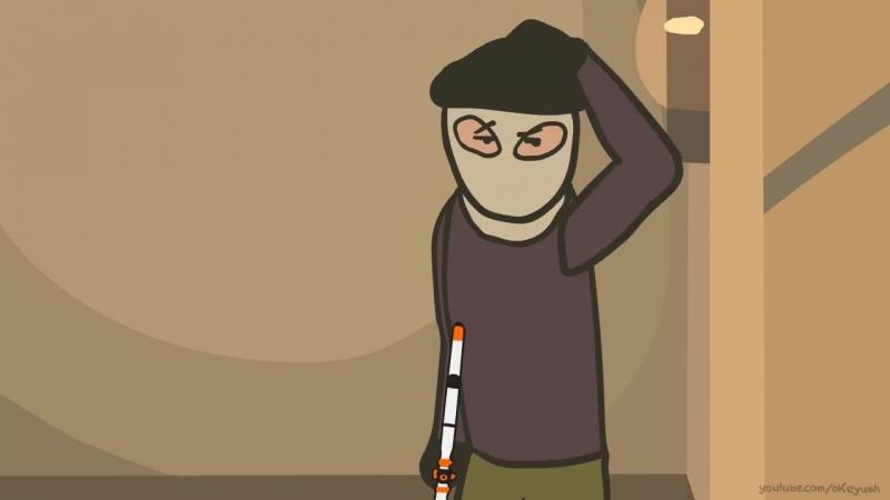 CS-GO Cartoon. Episode 4 DE_mirage.