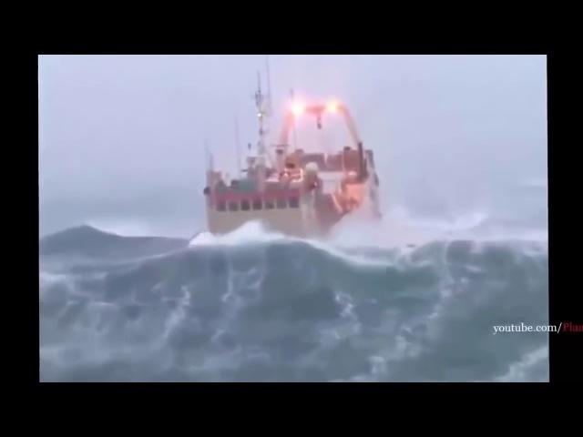 ТОП КРУШЕНИЙ КОРАБЛЕЙ ПОПАВШИХ В СИЛЬНЕЙШИЙ ШТОРМ TOP ship in distress in the storm