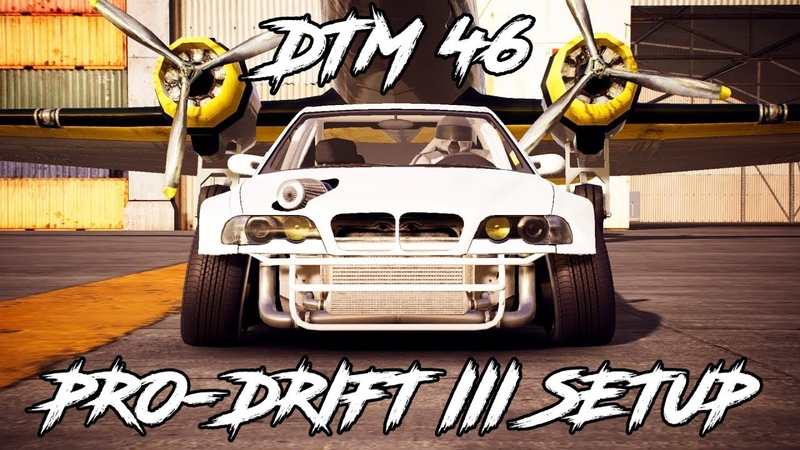 [CXDR2] DTM 46 Pro-Drift III Custom Setup (BMW M3 E46) | CarX Drift Racing 2