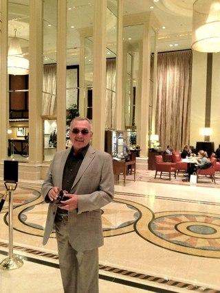 В холле отеля Westin St. Francis