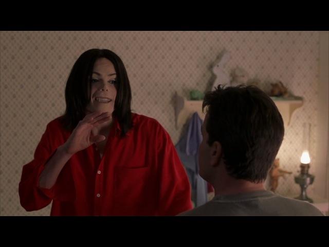 Троллинг пародия на Майкла Джексона Очень страшное кино 3 2003 сцена 5 8 QFHD