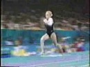 Oksana Knizhnik - 1996 Olympics Team Compulsories - Vault