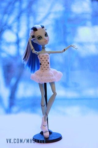 Одежда для кукол монстер хай самодельная