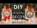 DIY ROOM DECOR 🎁 WOOD SLICE ORNAMENTS EASY CRAFT IDEA at CHRISTMAS 🎄 NEW YEAR GIFTS 2019