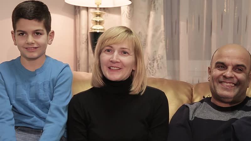 Семья Абдалла Салех Эль-Хейба и Ирины Целиковой
