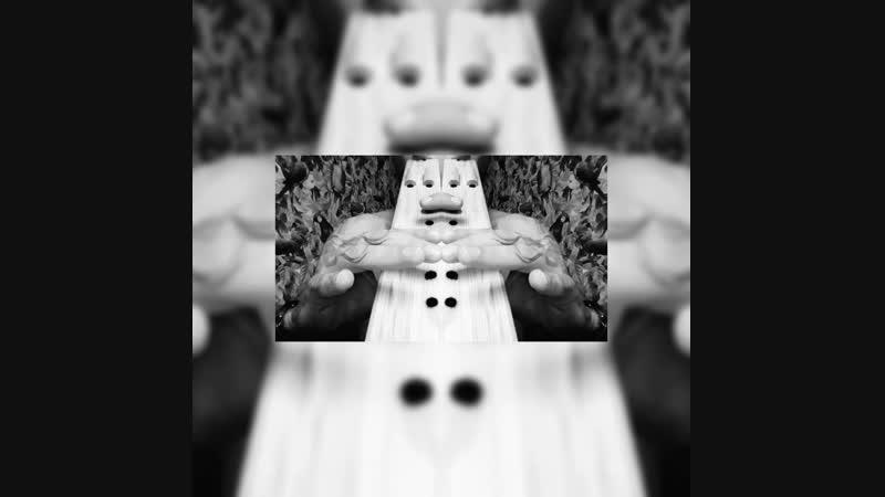 Double native American Flute in F4 minor pentatonic/ Двойная флейта коренных народов западных континентов Пимак Флейта Любви Ф