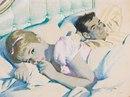 Семейный закон. Ругайтесь, но миритесь! И спать вместе ложитесь. Хоть боком, хоть задом…
