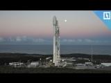 Запуск ракеты Falcon 9 к МКС