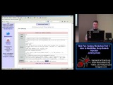 Web PenTesting Workshop Part 1 of 12 Intro to Mutillidae, Burp Suite & Injection Jeremy Druin