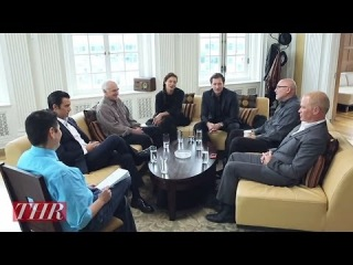 Интервью с участниками сериала «Город гангстеров» [Eng]