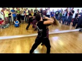 Renata Pecanha &amp Jorge Peres Brazilian Rio Zouk Dance Demo 1, Prague Zouk Congress, March 2014