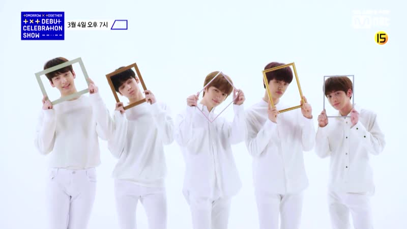 [Voice Teaser 05] TOMORROW_X_TOGETHER  Debut Celebration Show Presented by Mnet 19.03.04 7PM Mnet Live on Air