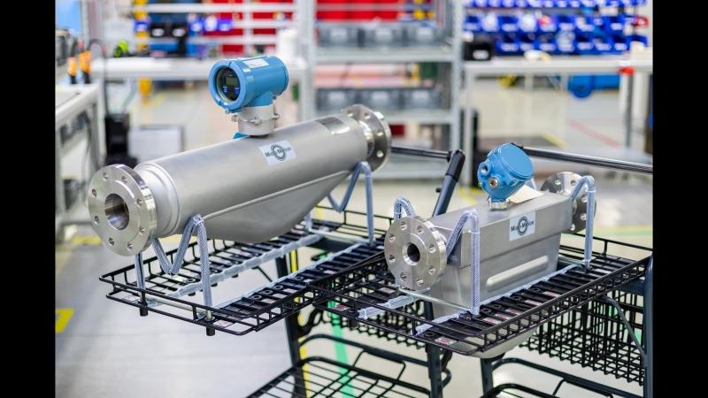 Производство кориолисовых расходомеров Micro Motion в Метране