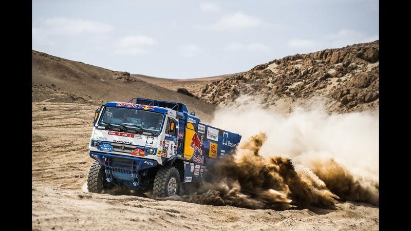 Dakar 2019 КАМАЗ мастер чемпион / Dakar 2019 KAMAZ-master champion