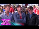 Meet Emblem3 &amp Vincent Thomas - THE X FACTOR USA 2012