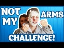 вызов принят. Дима Ермузевич. НЕ МОИ РУКИ!?  NOT MY ARMS CHALLENGE!