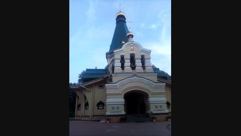 Мой звон монастырь Ганина Яма