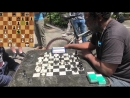 Chess Twins makes an ILLEGAL move and loses to the Legendary Cornbread NYC Chess Hustling