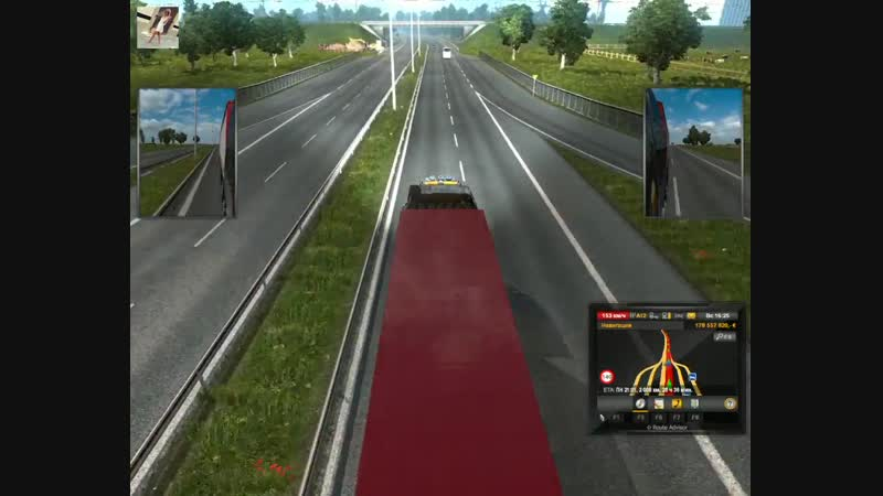 79 - Euro Truck Simulator 2 - Ольга Дальнобоищик - Санкт-Петербург - Тулуза - Super Mego Reis!-