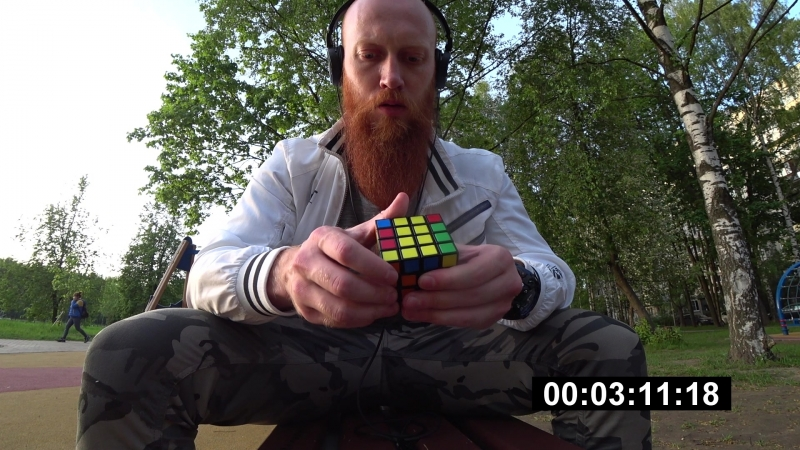 Кубик-рубика 4х4х4. Проверка на тупого кОчку )