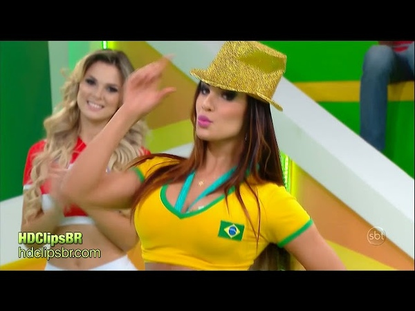 Brazilian TV: Aline e Fabiana ArenaSBT