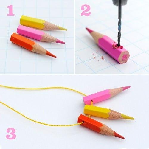 Мастер класс цветными карандашами подробно #11