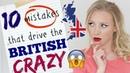 10 Grammar Errors that Drive British People CRAZY British English Grammar Lesson Spon