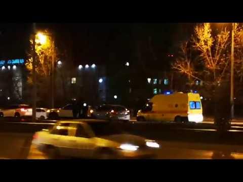 Крупное ДТП на проспекте Победы в Казани - столкнулось 5 машин