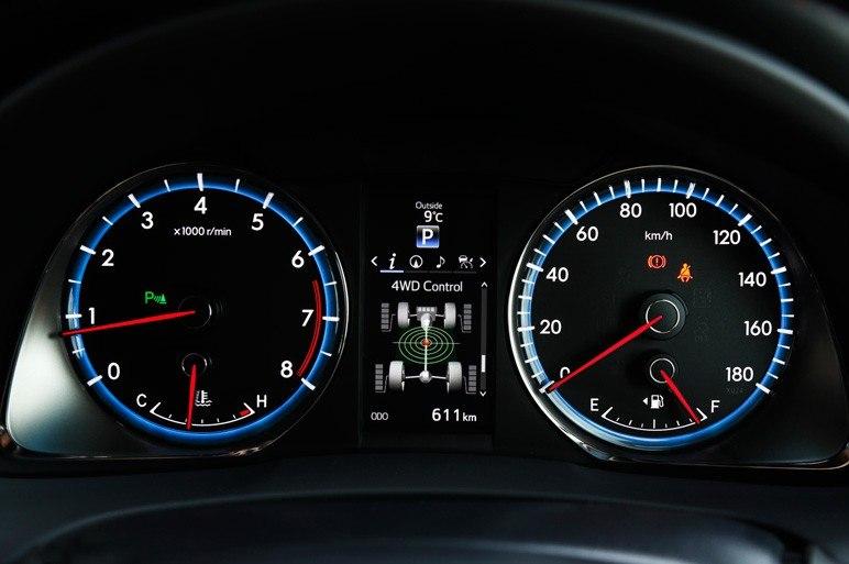 Спидометр Toyota Harrier 2014