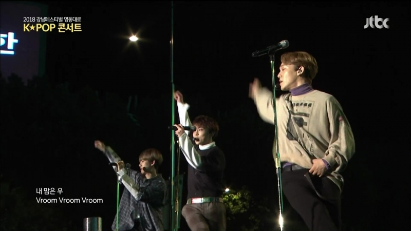 181014(181006) EXO-CBX - Blooming DayVroom VroomSweet Dreams@2018 Gаngnаm Fеstival K-PОP Cоnсеrt