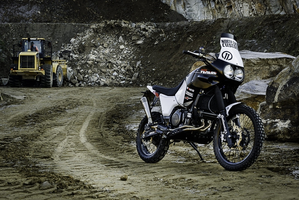 North East Custom: кастом Yamaha  Super Tenere Dakar