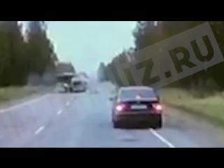 Видеорегистратор очевидца смертельного ДТП в Тверской области