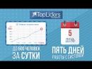TopLiders легендарный сервис по бесплатной накрутке целевых подписчиков