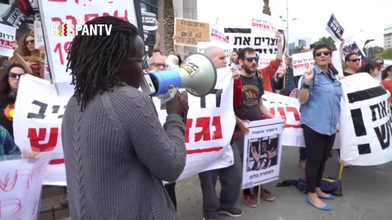 Israelíes protestan contra Netanyahu por suspender acuerdo con ONU sobre 16.000 refugiados africanos